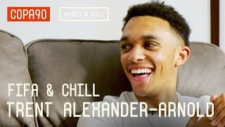 Download Salah's Secret & How To Stop Sané | FIFA and Chill with Trent Alexander-Arnold ft. Poet & Vuj Video
