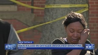 Download Man shot, killed during struggle with Durham police officers Video