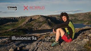 Download Adam Ondra - Illusionist 9a - Flatanger Norway (2013) Video