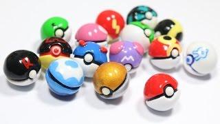 Download DIY Miniature Pokeball Tutorial: 15 DESIGNS Video