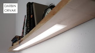 Download Floating Shelf w/ Hidden LED Lighting Video