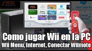 Download [TUTORIAL] Jugar WII en la PC (Menu de Wii con Canales, Conectar Wiimote, jugar Online, etc) Video
