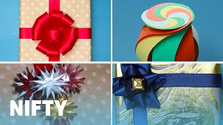 Download 9 Creative Ways To Upgrade Boring Gift Wrap Video