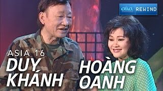 Download «ASIA 14» Liên Khúc Lính - Hoàng Oanh & Duy Khánh [asia SOUND] Video