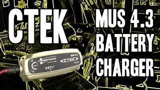 Download CTEK (56-864) MUS 4.3 12 Volt Fully Automatic 8 Step Battery Charger Video