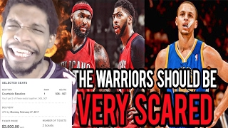 Download MIKE MADE ME BUY PELICANS TICKETS!! WHY THE DEMARCUS COUSINS TRADE SCARES THE WARRIORS REACTION! Video