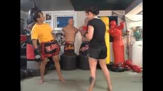 Download Duck and 5 Punch Combo - Master K Muay Thai Video