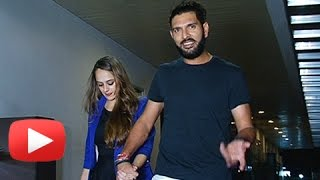 Download Yuvraj Singh And Hazel Keech On A Romantic Dinner Date Video