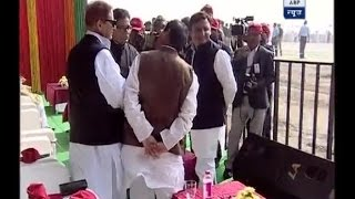 Download Agra-Lucknow expressway project inaugurated by Akhilesh Yadav Video