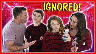 Download IGNORING OUR PARENTS FOR 24 HOURS | We Are The Davises Video