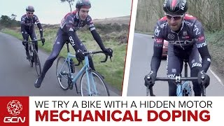 Download Mechanical Doping – How Does A Road Bike With A Hidden Motor Ride? Video