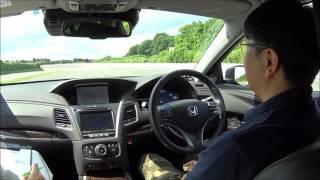 Download 【Honda Meeting 2017】高速周回路を自動でレーンチェンジするホンダの自律自動運転車 Video