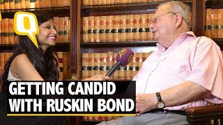 Download ″My One-Sided Affair Affected me Badly For a Bit!″ Reveals Ruskin Bond - The Quint Video