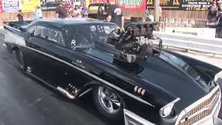 Download Loudest Blower Whine EVER!?!? 383ci SBC '57 Chevy Pro Mod Video