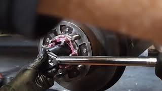 Download Wheel bearing preload set 14.5lb. 100 series Toyota Land Cruiser 4 of 6. Video
