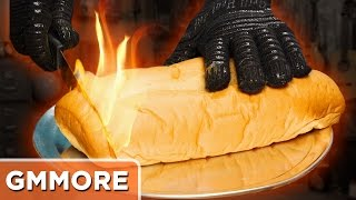 Download Hot Knife Sandwich Challenge Video