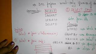 Download dml in sql with examples Video