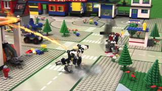 Download Lego City TJW Robot Rising Video
