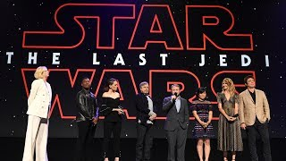 Download Star Wars: The Last Jedi cast surprises fans in Disney Studios presentation at the D23 Expo 2017 Video