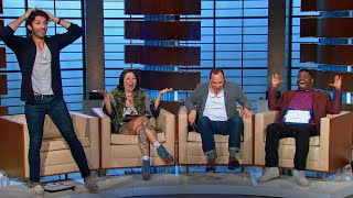 Download Margaret Cho; Tony Hale; Justin Baldoni; Ron Funches Video
