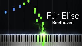 Download Fur Elise - Ludwig van Beethoven [Piano Tutorial] (Synthesia) Video