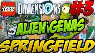 Download INVASION ALIENIGENA EN SPRINFIELD!! LOS SIMPSONS!! - LEGO Dimensions #3 Video