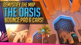 Download Overwatch: Bounce Pads & Cars, the Oasis Demystified! Video