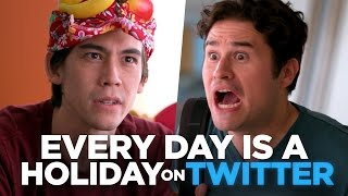 Download Every Day is a Holiday on Twitter Video