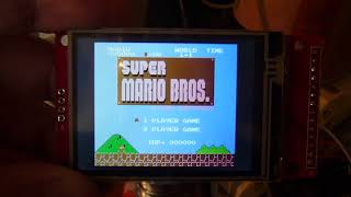 Download ESP32+ILI9341 NES emu Video