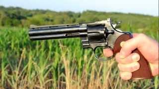 Download Shooting a 1959 Colt Python revolver Video