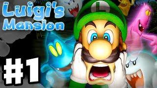 Download Luigi's Mansion - 3DS Gameplay Walkthrough Part 1 - Area 1 - Chauncey (Nintendo 3DS) Video