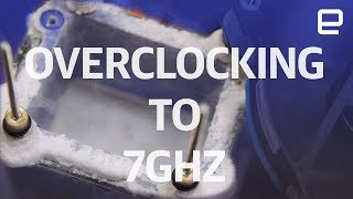 Download Overclocking to 7GHz with Liquid Nitrogen | Hands-On | Computex 2017 Video