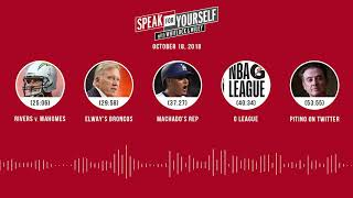 Download SPEAK FOR YOURSELF Audio Podcast (10.18.18) with Marcellus Wiley Jason Whitlock | SPEAK FOR YOURSELF Video
