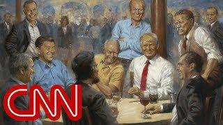 Download Artist's hidden message in Trump painting Video