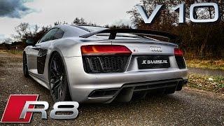 Download Audi R8 V10 Plus LOUD! Exhaust Sound Startup & Revs Video