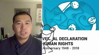 Download Mike Hyung Gul Lee, Canada, reading article 8 of the Universal Declaration of Human Rights Video