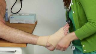Download Medical Conditions & Treatments : How to Wrap an Ankle With an Ace Bandage Video