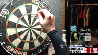 Download Rattlesnake vs muddog01 -WDA darts Video
