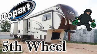 Download I Bought A Luxury 5th Wheel RV From Copart I Hate Thieves Video