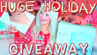 Download HUGE Holiday Giveaway 2016! Video