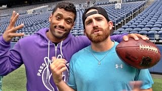 Download Seattle Seahawks Edition ft. Russell Wilson | Dude Perfect Video