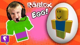 Download Biggest ROBLOX Egg! Toy Surprises + Video Game Play. Frog Monster Attack SKIT HobbyKidsTV Video