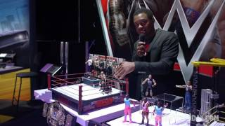 Download NY Toy Fair 2017: WWE figures by Mattel Video