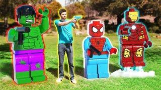 Download LEGO meets Avengers meets Minecraft 1 Video