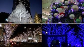 Download Light Up Tokyo 2016 — Holiday illuminations in Tokyo Video