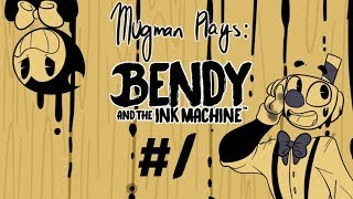 Download Bendy Gives a Tour - Mugman Plays Bendy and the Ink Machine - Part 1 [K.A.T.V.] Video