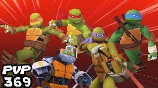 Download Teenage Mutant Ninja Turtles: Legends PVP 369 All TMNT & Metalhead Video