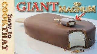 Download Giant Magnum Double Caramel Icecream Cake How To Cook That Ann Reardon Video