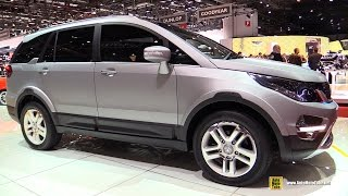 Download Tata Hexa Concept - Exterior and Interior Walkaround - 2015 Geneva Motor Show Video