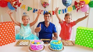 Download Diana & Dad's birthday - surprises and sweets! Video